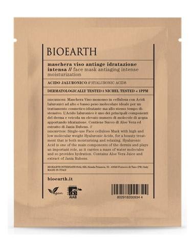 Maschera Viso Antiage Idratazione Intensa - Bioearth - Wingsbeat