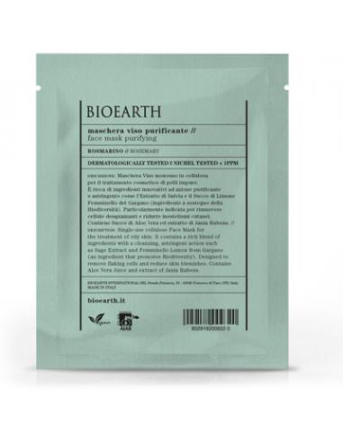Maschera Viso Purificante Rosmarino - Bioearth - Wingsbeat