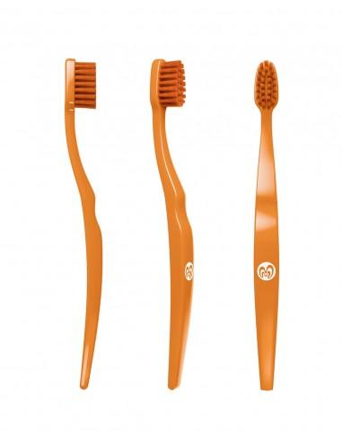 Spazzolino da denti Baby biodegradabile - Arancione - Biobrush Berlino - Wingsbeat
