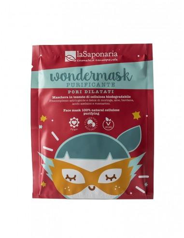 Wondermask - maschera in tessuto purificante - La Saponaria - Wingsbeat
