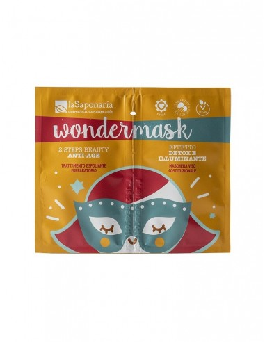 Wondermask - maschera 2 steps beauty anti age - La Saponaria - Wingsbeat