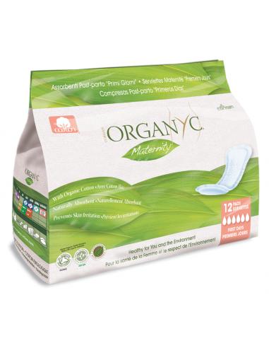 Assorbenti post parto ripiegati - Organic - Wingsbeat