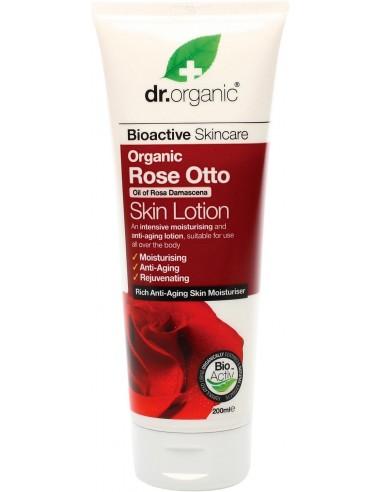 Rose Skin Lotion - Lozione Corpo alla rosa- Dr organic- Wingsbeat