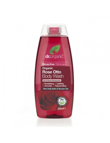 Organic Rose Body Wash - Gel Doccia - Dr Organic - Wingsbeat
