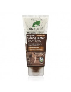 Cocoa Butter Body Scrub - Scrub Corpo al Burro di Cacao - Dr Organic-Wingsbeat