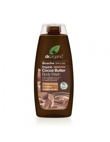 Cocoa Butter Body Wash - Gel Doccia - Dr Organic - Wingsbeat