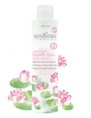 Shampoo Capelli lisci alla Ninfea - Maternatura - Wingbsbeat