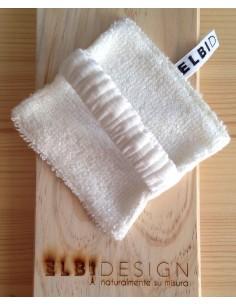 Pad struccante in bambù con elastico e bustina