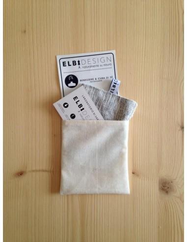 Pad esfoliante in bambù e canapa con bustina | Wingsbeat