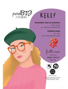 Kelly maschera viso peel off pelli secche - frutti rossi