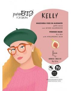 Kelly maschera viso peel off pelli secche - fico