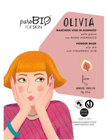 Olivia maschera viso in crema pelli grasse - fico - Wingsbeat