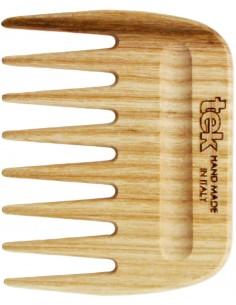Pettine afro in legno