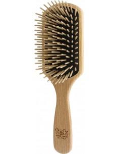 Spazzola in legno rettangolare grande - dente lungo