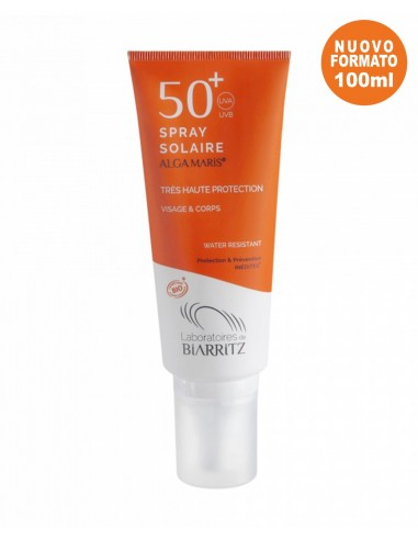Spray Solare Viso e Corpo SPF50+ - Alga Maris - Wingsbeat