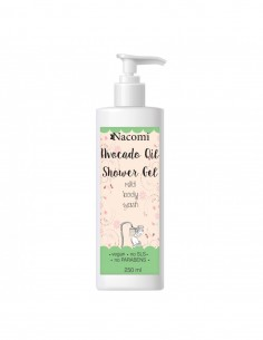 Gel Doccia Naturale all'Olio di Avocado|Nacomi|Wingsbeat