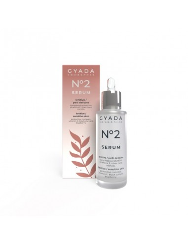Siero Viso N. 2 Lenitivo / Pelli Delicate - Gyada Cosmetics - Wingsbeat