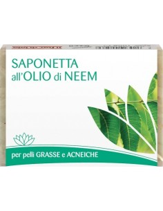 Saponetta biologica all'olio di neem