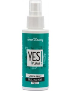 YES PLEASE CREMA SPRAY DELICIOUS MINT-RINFRESCANTE 100ml