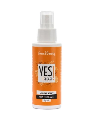 YES PLEASE CREMA SPRAY SCENTED ORANGE-RIGENERANTE 100ml|Green & Beauty|Wingsbeat