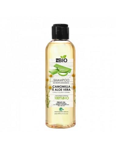 Shampoo Camomilla e Aloe per Capelli Colorati e Sensibili|Ph Bio|Wingsbeat