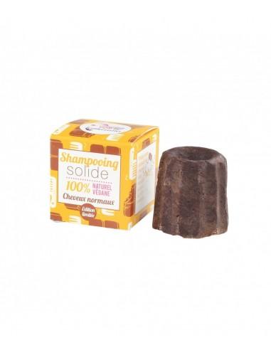 Shampoo solido per capelli normali al cioccolato - Lamazuna - Wingsbeat