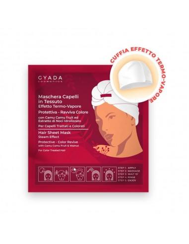 Maschera Capelli in Tessuto Effetto Termo-Vapore Protettiva E Ravviva Colore Gyada Cosmetics Wingsbeat