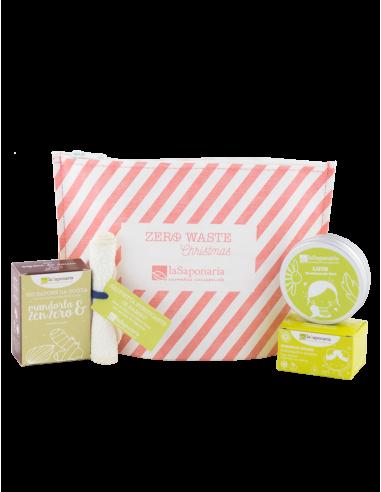 Pochette Zero Waste starter kit|La Saponaria|wingsbeat