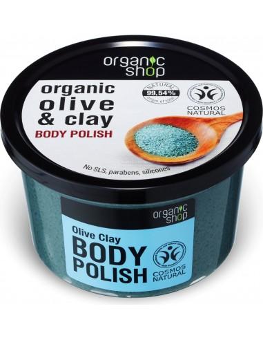 Scrub Corpo Levigante Oliva, Argilla e Sale|Organic Shop|Wingsbeat